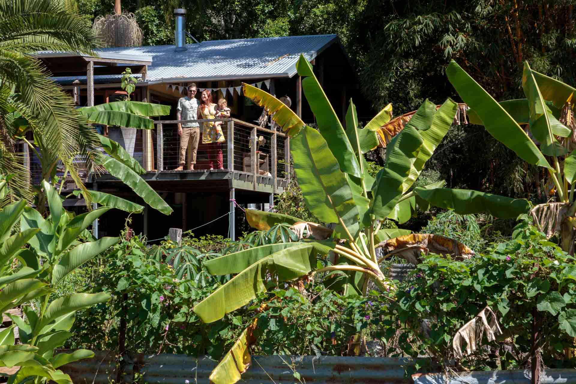 Our Kitchen Garden Interview With A Minimalist The Devine Family Hippie In Disguise