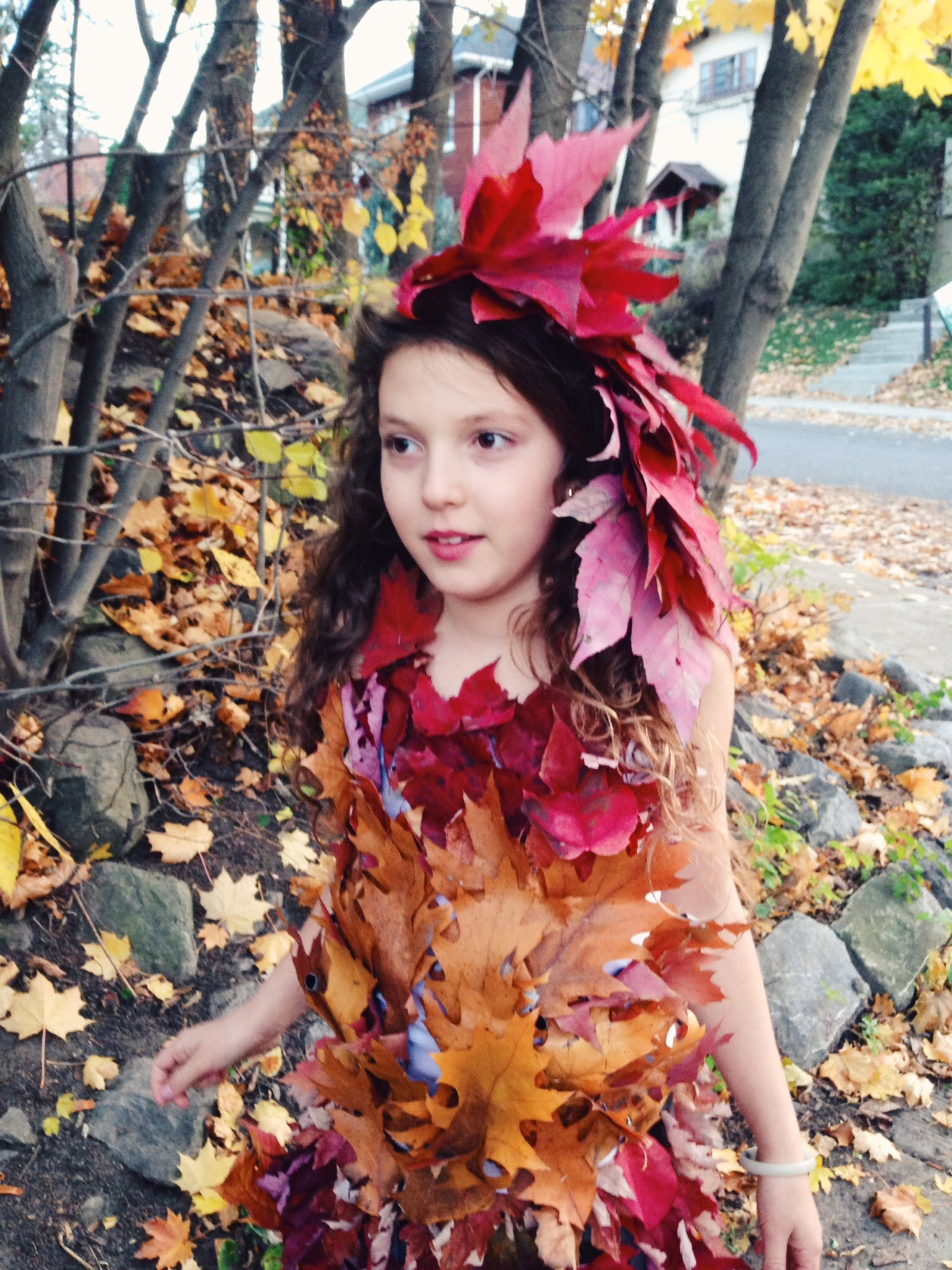 Make Your Own Mother Nature Leaf Dress: A Compostable Zero ...