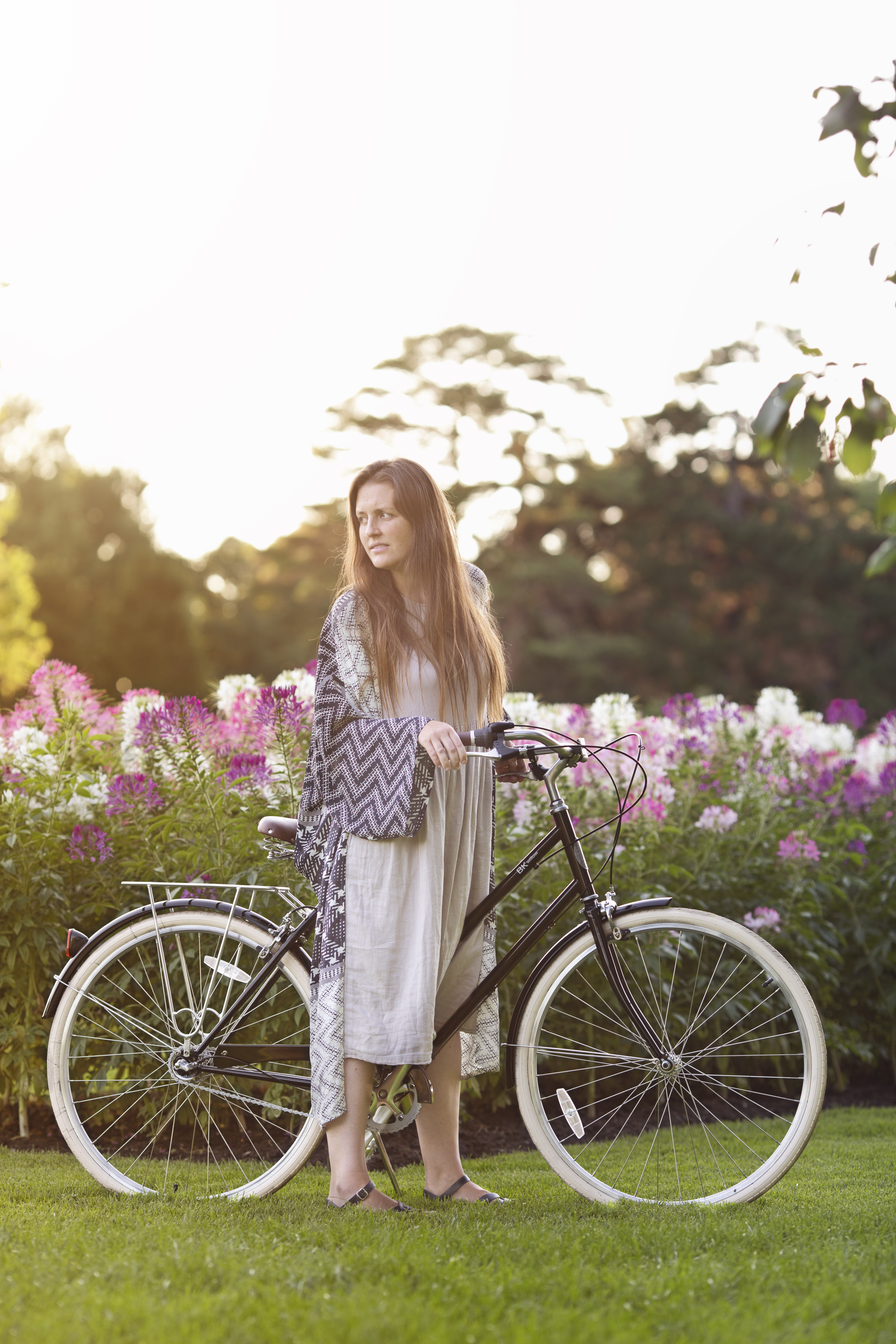 Danielle Chassin Hippie in Disguise Zara XOVELO Brooklyn Bicycle Co