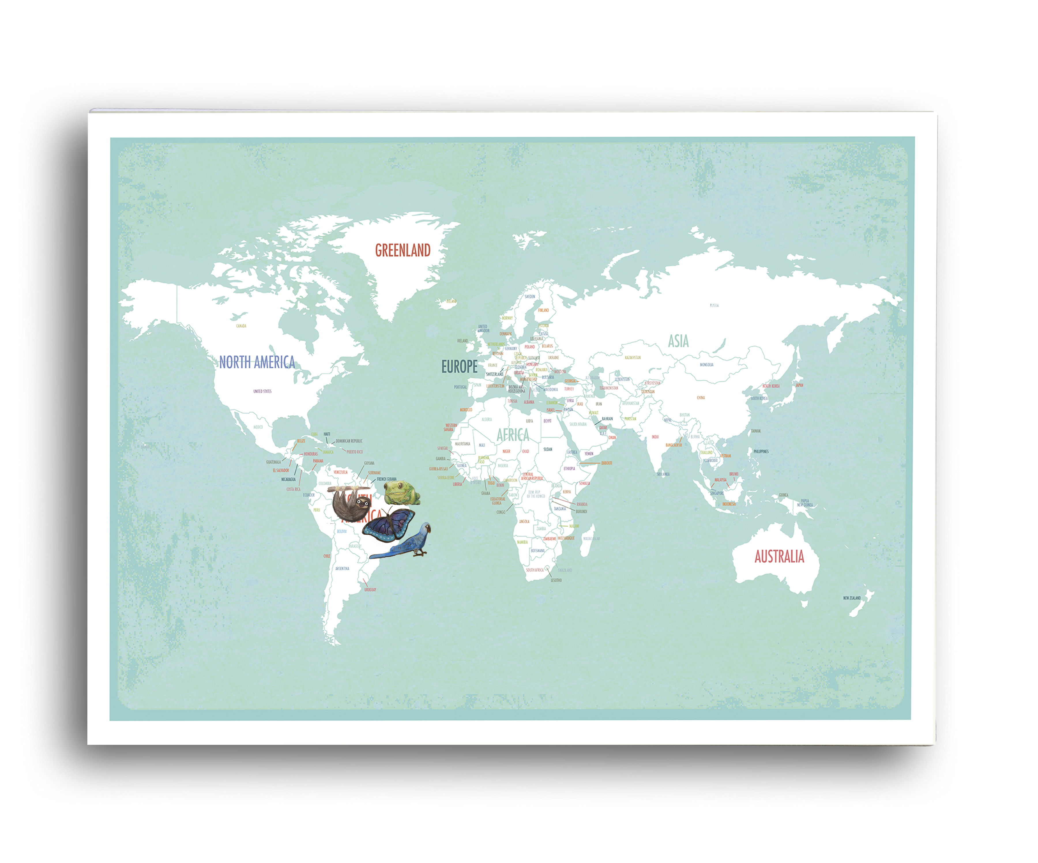 Global Guardian Project Discount Code Hippie in disguise global map project